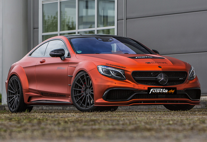 2017 Mercedes-AMG S 63 Coupe Fostla & PP-Performance Combat Monster (C217)