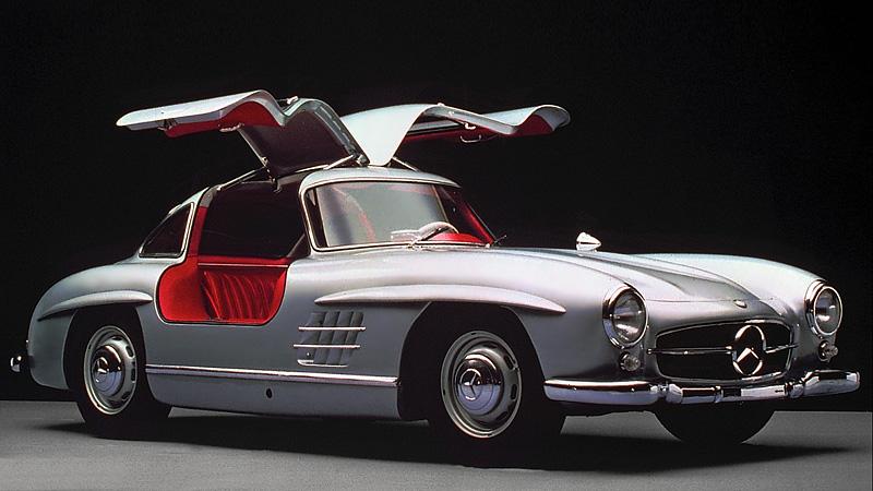 1954 mercedes benz 300 sl gullwing for Mercedes benz sl 300
