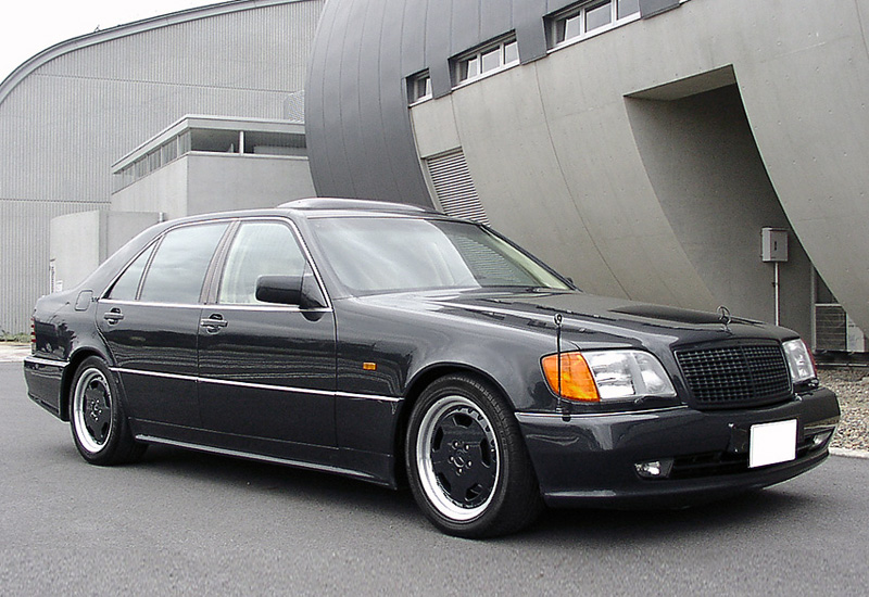 1995 mercedes benz s600l 7 3 amg for Mercedes benz 600 amg