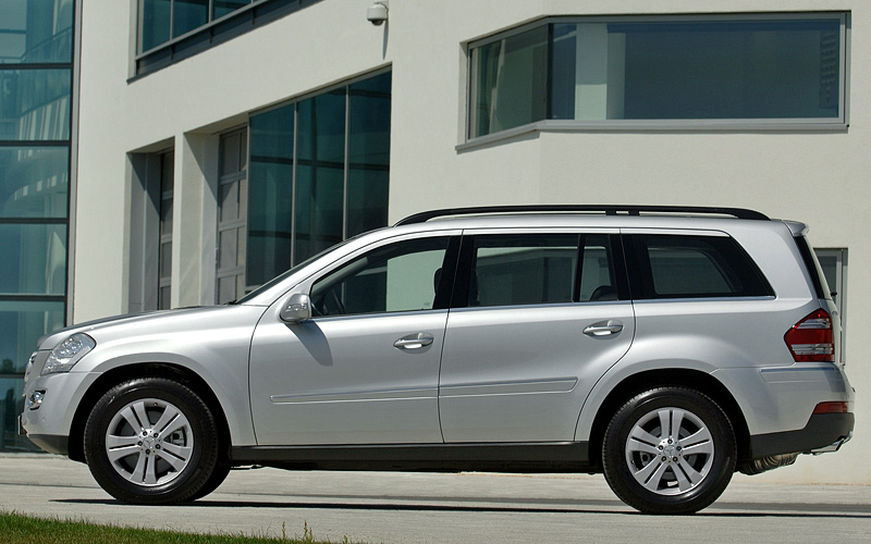 2007 mercedes benz gl 500 4matic x164 for Mercedes benz gl 500 4matic 2010