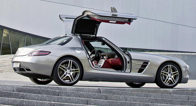 Mercedes benz sls amg фото