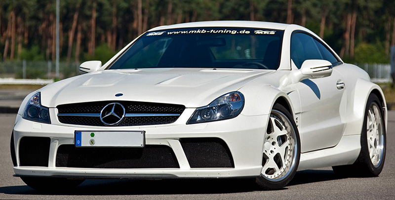 2011 Mercedes-Benz SL 65 AMG Black Series MKB P1000
