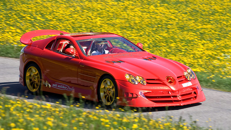 2011 Mercedes Benz Slr Mclaren 999 Red Gold Dream Ueli