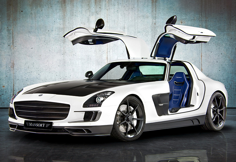 2011 mercedes benz sls amg mansory. Black Bedroom Furniture Sets. Home Design Ideas