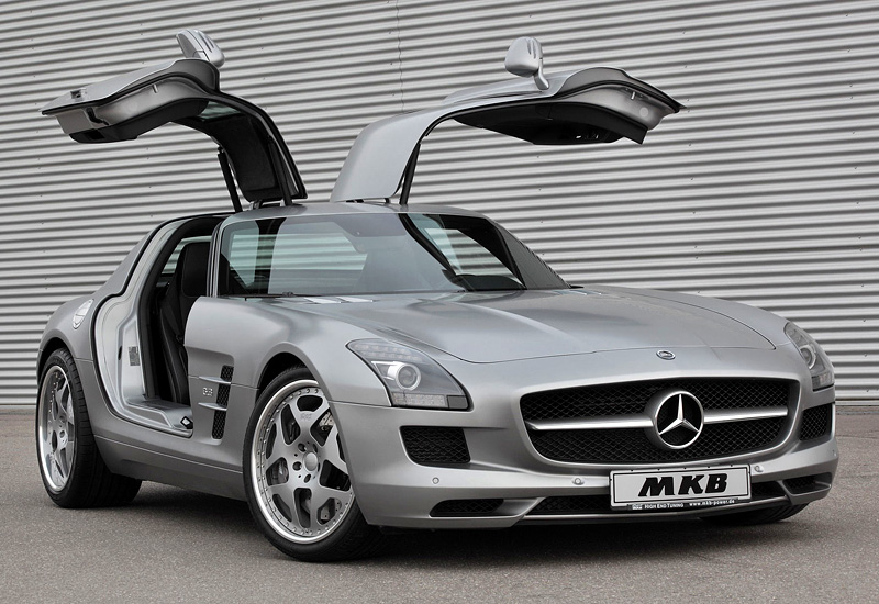 2011 mercedes benz sls amg mkb p640 for Mercedes benz 640