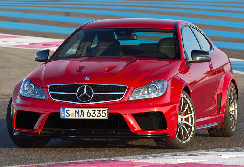 2012 Mercedes-Benz C 63 AMG Coupe Black Series