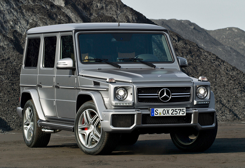 2012 Mercedes-Benz G 63 AMG - характеристики, фото, цена.
