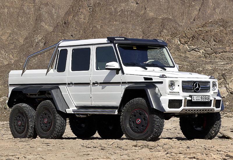 Mercedes g63 amg 6x6 фото