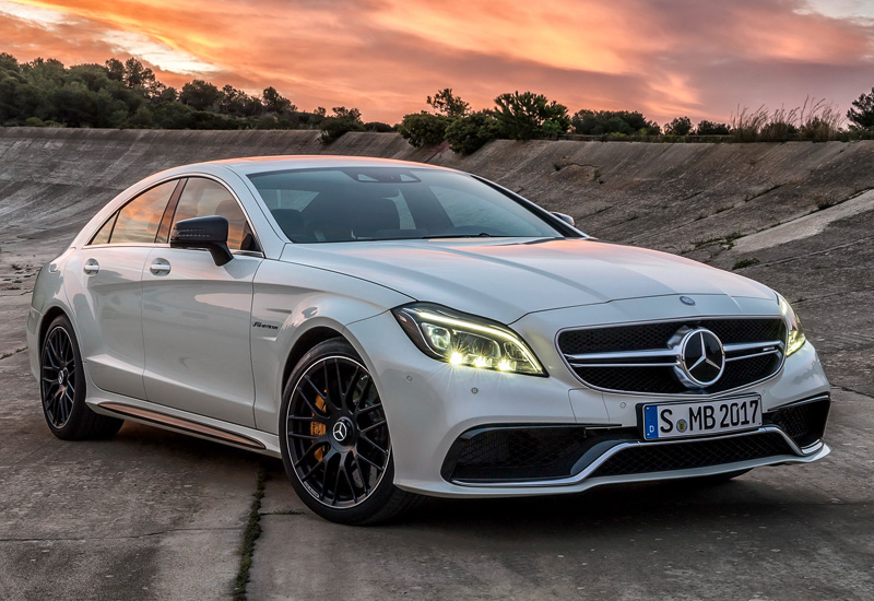 2015 Mercedes-Benz CLS 63 AMG S-Model 4Matic (C218)
