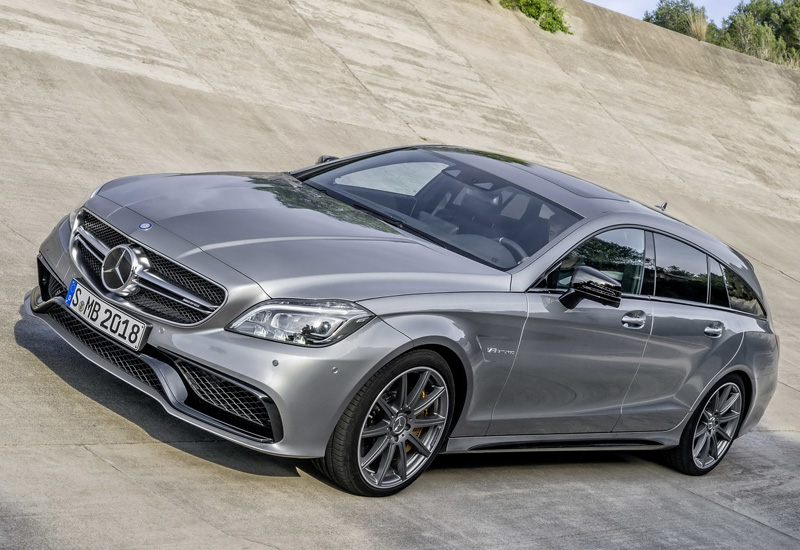 2015 Mercedes-Benz CLS 63 AMG Shooting Brake S-Model 4Matic (X218)