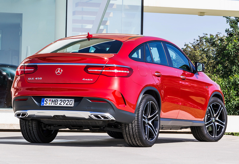 2015 Mercedes-Benz GLE 450 AMG 4Matic Coupe (C292)
