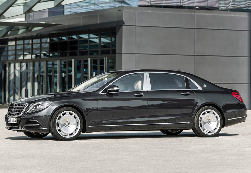 2015 Mercedes-Maybach S 600