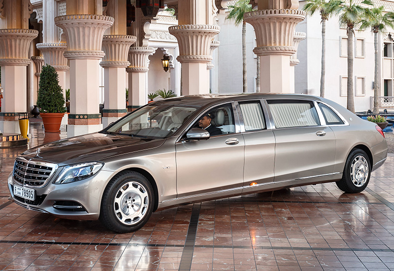 2016 Mercedes-Maybach S600 Pullman