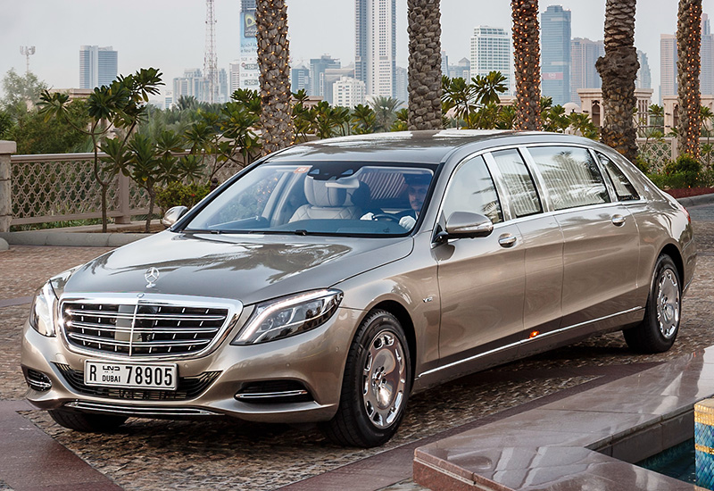 2016 Mercedes-Maybach S 600 Pullman - характеристики, фото ...