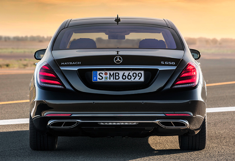 2018 Mercedes-Maybach S 650