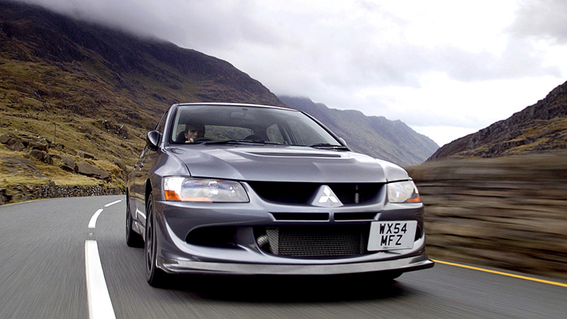 2004 Mitsubishi Lancer Evolution VIII MR FQ-400