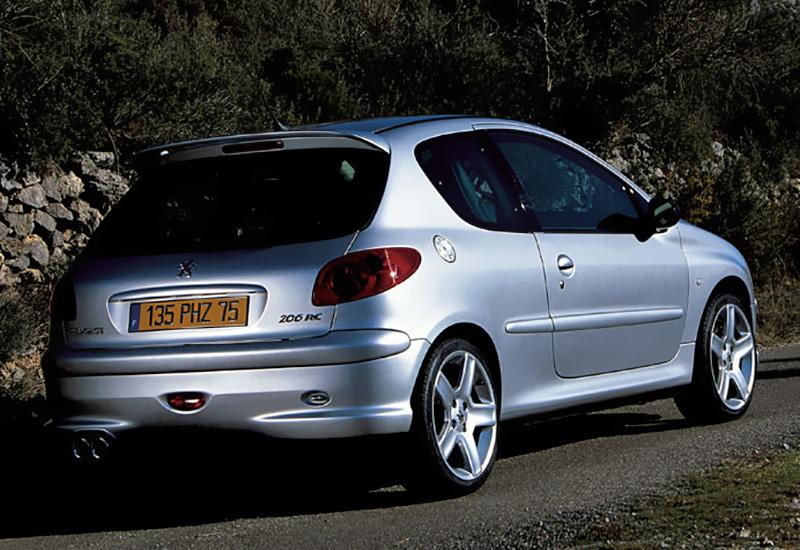 2003 peugeot 206 rc - Alfombras peugeot 206 ...