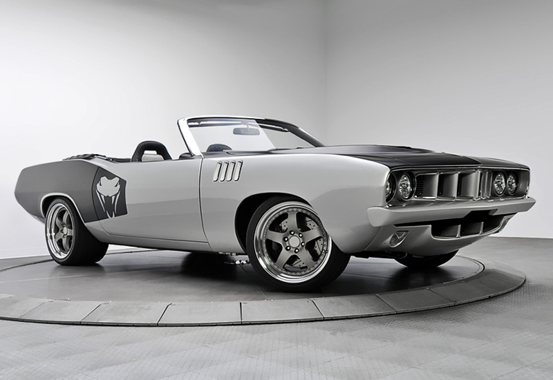 2013 Plymouth ViperCuda 488 Supercharged Convertible