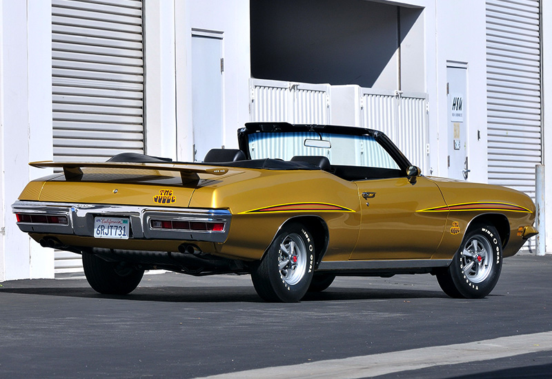 1971 Pontiac GTO Judge Convertible
