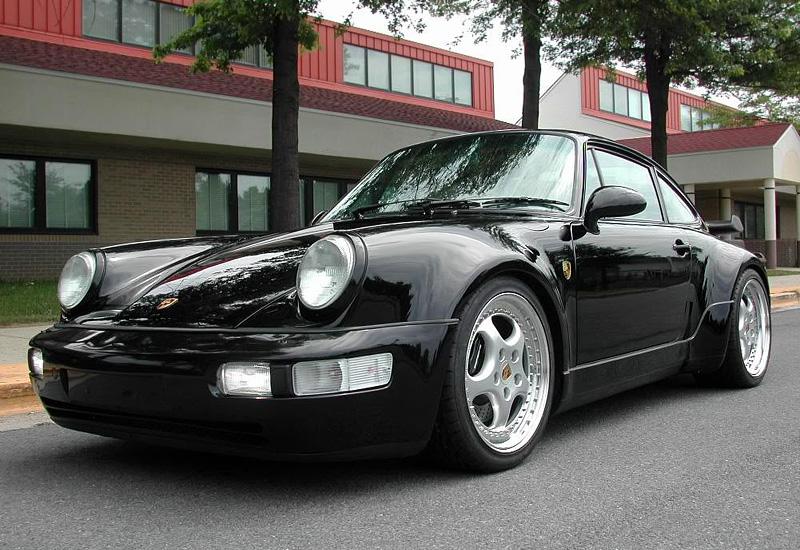 porsche carrera 4 мощность 3.6 turbo 1994