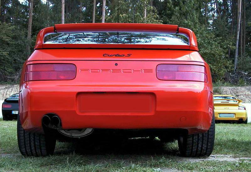 1993 Porsche 968 Turbo S - характеристики, фото ...