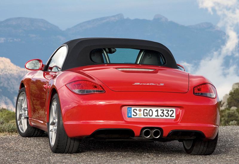 2008 Porsche Boxster S (987) - характеристики, фото ...