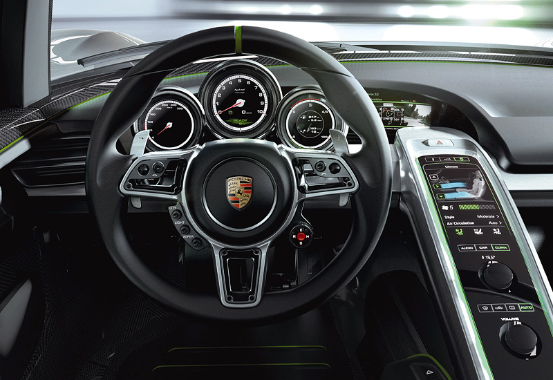 porsche 918 spyder подробные характеристики