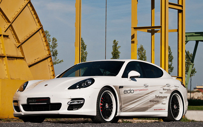 2012 Porsche Panamera Turbo S Edo Competition