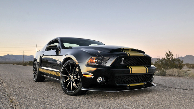 2012 Ford Mustang Shelby GT500 Super Snake 50th Anniversary