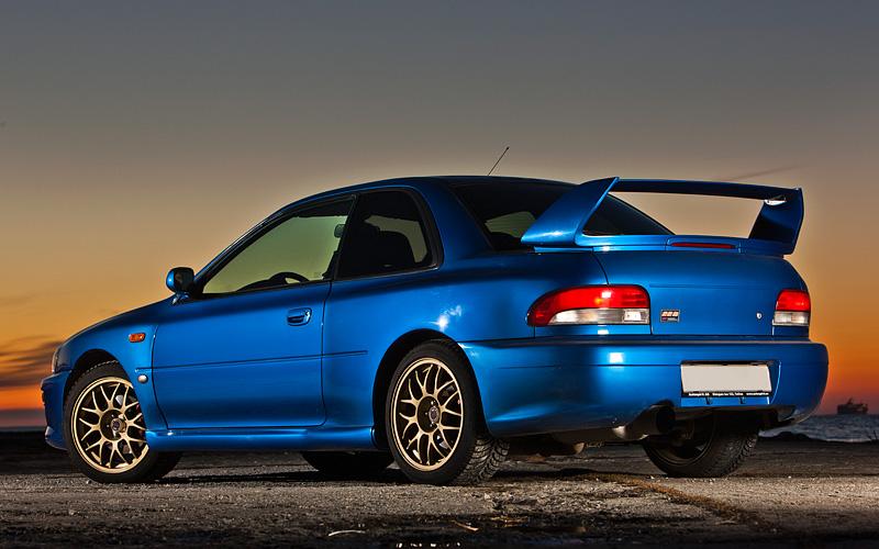 Subaru Impreza B Sti on 1998 Subaru Impreza 22b Sti