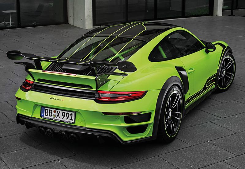 2017 Porsche 911 Turbo Techart Gtstreet R характеристики
