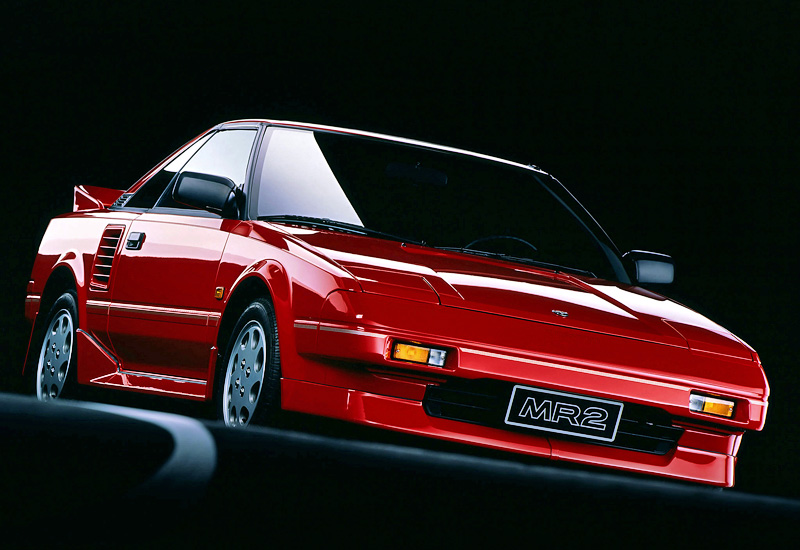 1987 Toyota MR2 Supercharged (W10) generation I