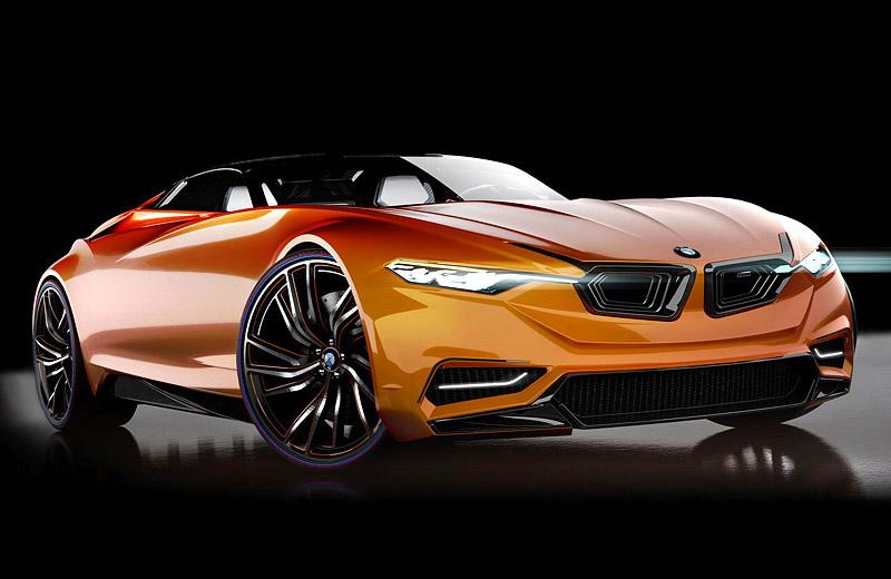 BMW MZ8 - суперкар к столетнему юбилею марки БМВ