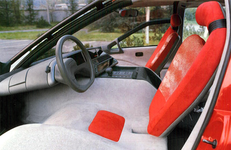 Lamborghini Genesis: «белая ворона» красного цвета
