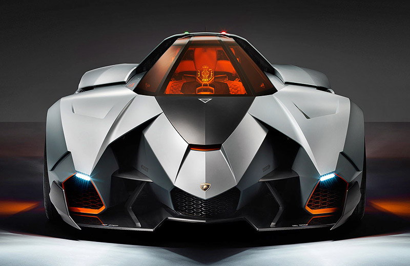 Lamborghini Egoista Concept - конкурент ударному вертолету Apache