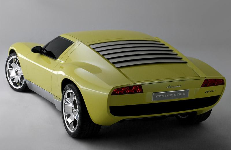 Lamborghini Miura Сoncept - возрождение легенды
