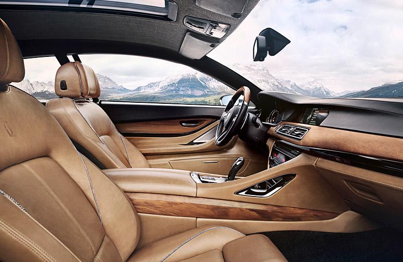BMW Gran Lusso Coupe - элегантный стиль от Pininfarina