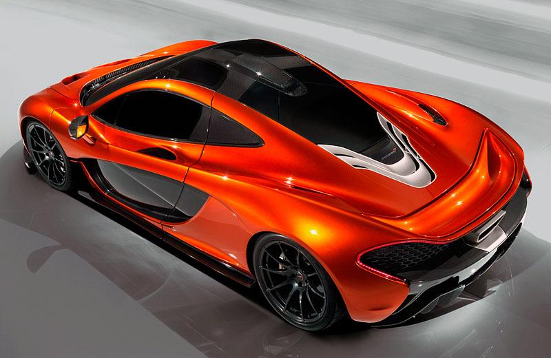 Суперкар McLaren P1 - преемник легендарного F1