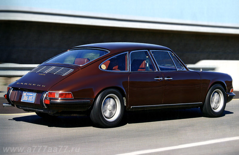 1967 Porsche 911 S 4-door by Troutman & Barnes - забытый предок Porsche Panamera