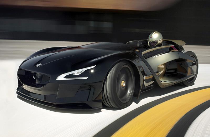 Peugeot EX1 Concept - французский электромобиль, покоривший Нюрбургринг