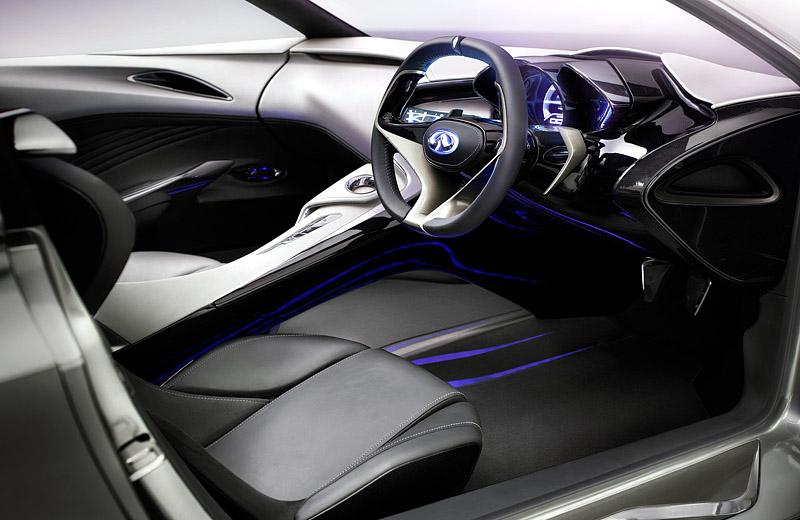 Infiniti Emerg-E Concept - скоростной электромобиль