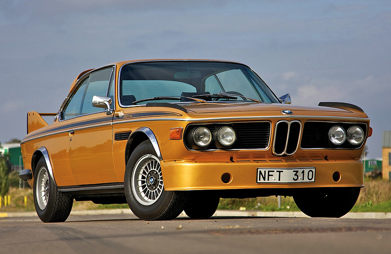 BMW 3.0 CSL: «Бэтмобиль» класса туринг