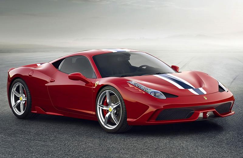 Ferrari 458 Speciale - Лимитированная версия 458-го