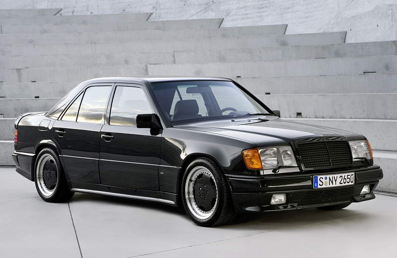 Mercedes-Benz 300E AMG 6.0 Hammer: пуля под названием «Молот»