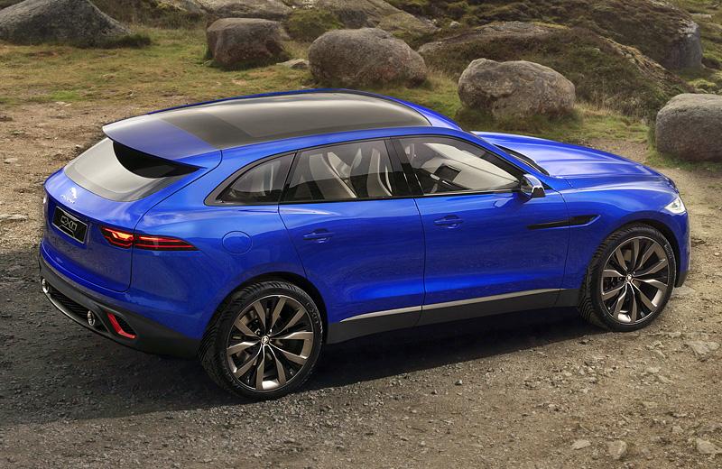 Jaguar C-X17 Concept — первый серийный внедорожник производителя автомобилей класса люкс