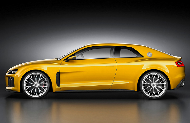 Audi Sport quattro Concept - последователь легендарного раллийного воина 80-х