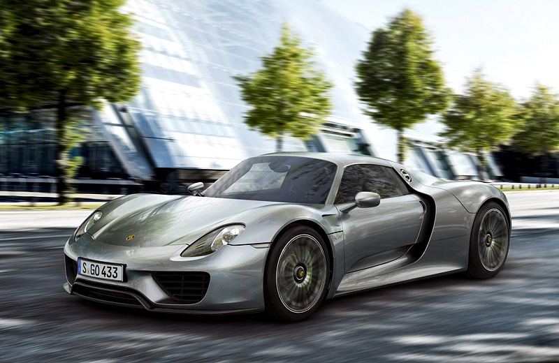 Долгожданный дебют Porsche 918 Spyder состоялся!