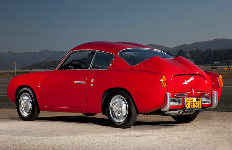 1956 Abarth 750 GT Zagato - большие победы маленького автомобиля