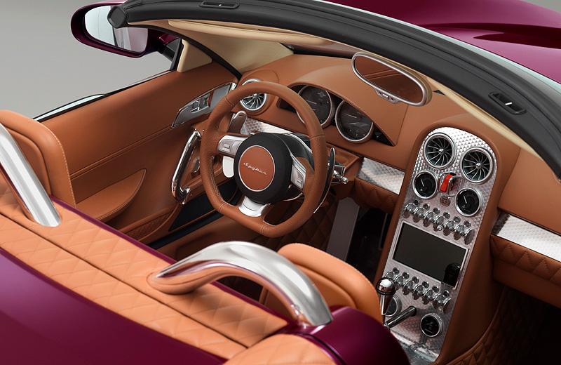 Spyker B6 Venator Spyder Concept - Новый голландский родстер