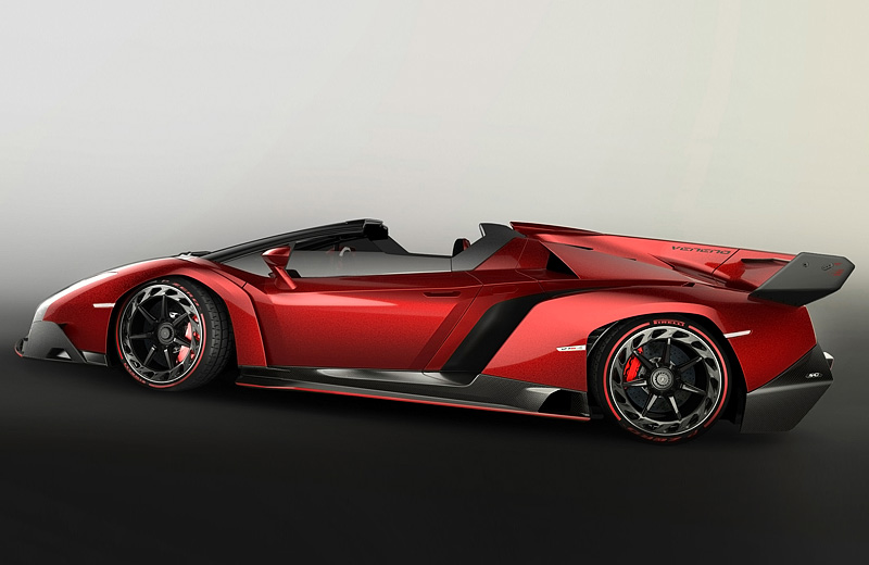 Lamborghini Veneno Roadster — аэродинамическая эффективность суперкара на обычной дороге